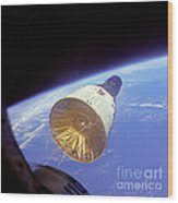 Gemini 6 Views Gemini 7 Wood Print