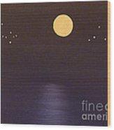 Gemini And Libra Wood Print