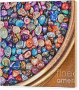 Gems Wood Print