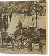 General Charles Francis Adams Jr Wood Print by Everett