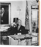 General George C. Marshall As Secretary Wood Print by Everett