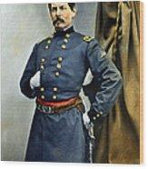 General George Mcclellan Wood Print