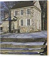 General George Washington Headquarters Wood Print