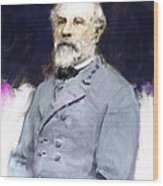 General Lee Wood Print