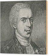 General Samuel B. Webb Wood Print