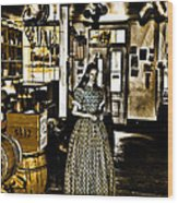General Store Harpers Ferry Wood Print