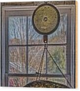 General Store Scale Wood Print