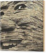 Gentle Giant In Sepia Wood Print