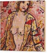Gentle Nude Wood Print