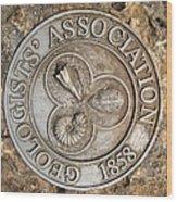 Geologists' Association 1858 Wood Print