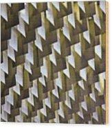 Geometric Ceiling Wood Print by Gerard Hermand