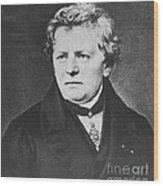 Georg Ohm, German Physicist Wood Print