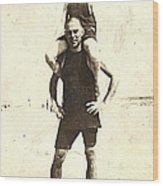 George 1, Long Beach, Ny Wood Print
