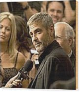 George Clooney At Arrivals For Michael Wood Print by Everett