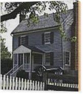 George Peers House Appomattox Virginia Wood Print