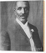George W. Carver, African-american Wood Print