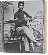 George W. Whitman Wood Print