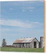 George's Barn Wood Print