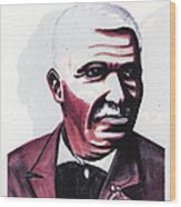 Georges Washington Carver Wood Print by Emmanuel Baliyanga