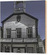 Georgetown City Hall Wood Print