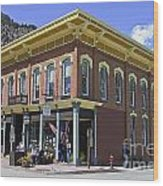 Georgetown Colorado On Canvas Wood Print