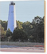 Georgetown Light Winyah Bay Sc Wood Print