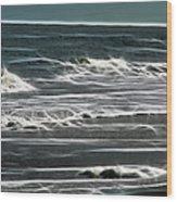 Georgia - Ocean Sparks Wood Print