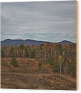Georgia Blue Ridge Mountains Wood Print