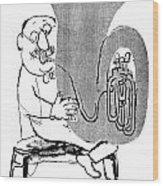 Gerard Hoffnung (1925-1959) Wood Print