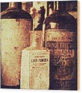 German Liver Powder Wood Print