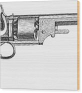 German Revolver, 1856 Wood Print