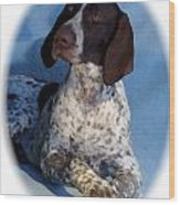 German Shorthaired Pointer 790 Wood Print