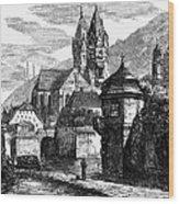 Germany: W�rzburg Wood Print