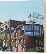 Ghirardelli Chocolate Factory San Francisco California . 7d14093 Wood Print by Wingsdomain Art and Photography