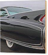 Ghost Cadillac Wood Print