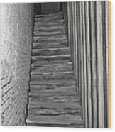 Ghost Town Stairs Bodie California Wood Print