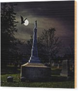 Gibbard Grave Wood Print