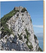 Gibraltar's Moorish Castle Wood Print