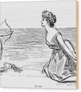 Big Game, 1900 Wood Print