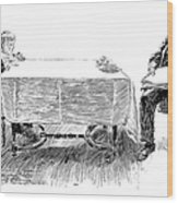 Gibson: Breakfast, 1898 Wood Print