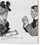 Gibson: Couple, 1896 Wood Print