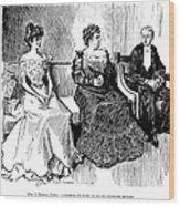 Drawings, 1900 Wood Print