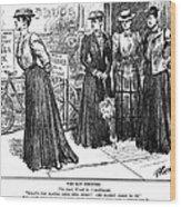 Gibson Girl, 1890s Wood Print