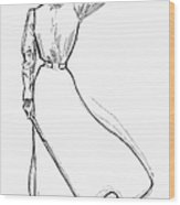 Gibson Girl, 1899 Wood Print