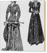 Gibson: Grandmother, 1897 Wood Print