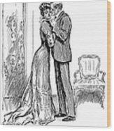 Kiss, 1903 Wood Print