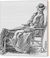 Gibson: Woman, 1898 Wood Print