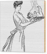 Gibson: Woman, 1903 Wood Print