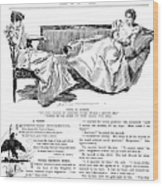 Gibson: Women, 1897 Wood Print