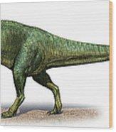 Giganotosaurus Carolinii, A Prehistoric Wood Print